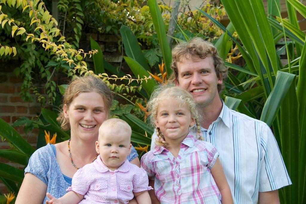 Alex und Tabea mit Johanna und Salome