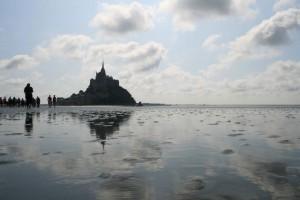 Der Mont-Saint-Michel in der Normandie