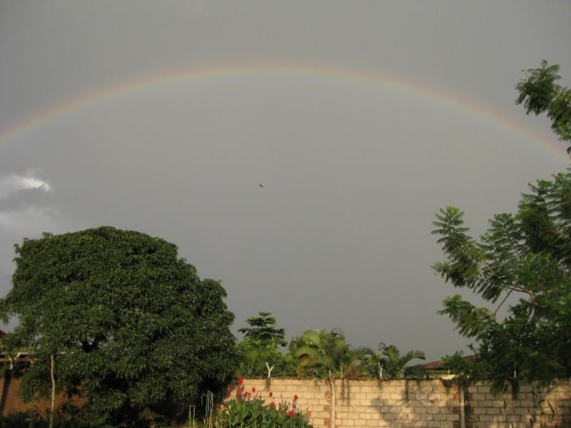 Regenbogen über Bujumbura