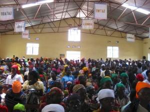 Gottesdienst in der Kathedrale Makamba