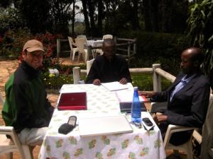 BAHO Retreat in Ijenda - Staff
